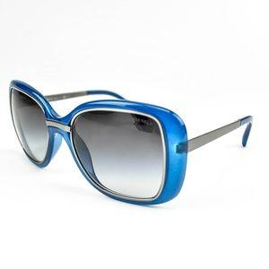 "CHANEL ""Cinema"": Blue & Logo, Sunglasses (oy)"